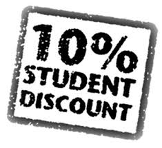 10% Student Discount