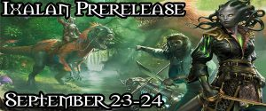 9-23-17 Magic Ixalan Prerelease Day 1 @ Gamers Guild | Spring Lake | North Carolina | United States