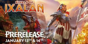 1-13-18 Magic Rivals of Ixalan Prerelease @ Gamers Guild | Spring Lake | North Carolina | United States