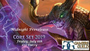 7-6-18 Magic Core Set 19 Midnight Prerelease @ Gamers Guild   Spring Lake   North Carolina   United States