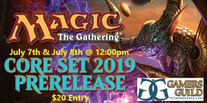 7-7-18 Magic Core Set 19 Prerelease @ Gamers Guild   Spring Lake   North Carolina   United States