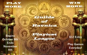 Guilds of Ravnica Playtest League @ Gamers Guild | Spring Lake | North Carolina | United States