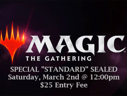 Special Sealed Event this Saturday!