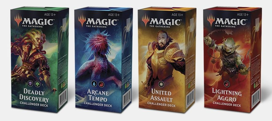 Challenger Decks 2019 are almost here!