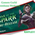 War of the Spark Prerelease Raffle!