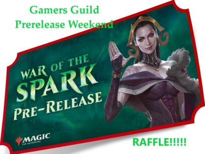 War of the Spark Prerelease Raffle!