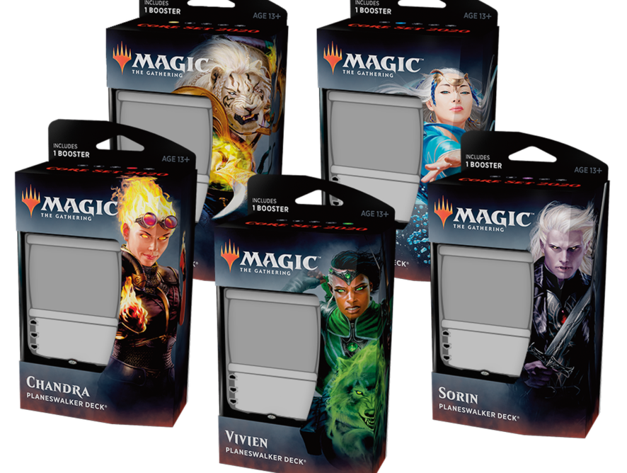 Magic Open House features Magic 2020 Planeswalker Decks!