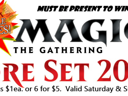 Magic 2020 Prerelease Raffle
