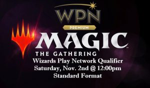 11-2-19 Wizard Play Network Qualifier @ Gamers Guild