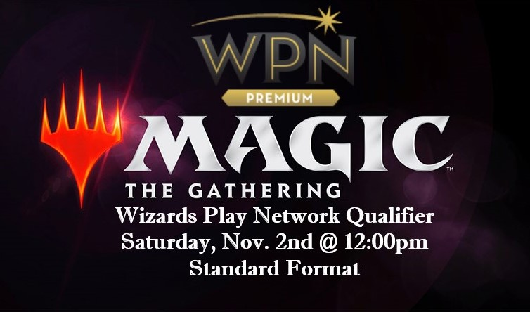 Announcing our Wizard Play Network Qualifier!