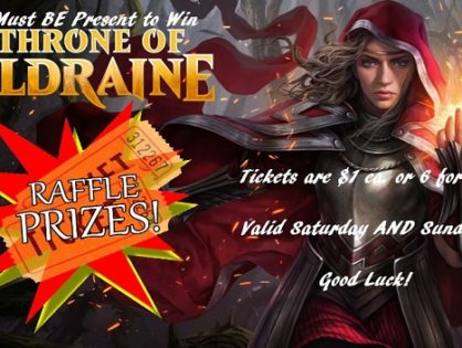 Throne of Eldraine Raffle Details!