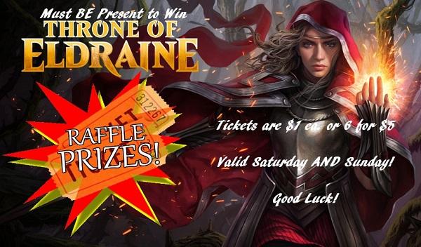 Throne of Eldraine Raffle Details!