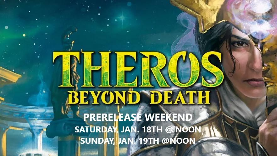 Theros Beyond Death Prerelease Weekend